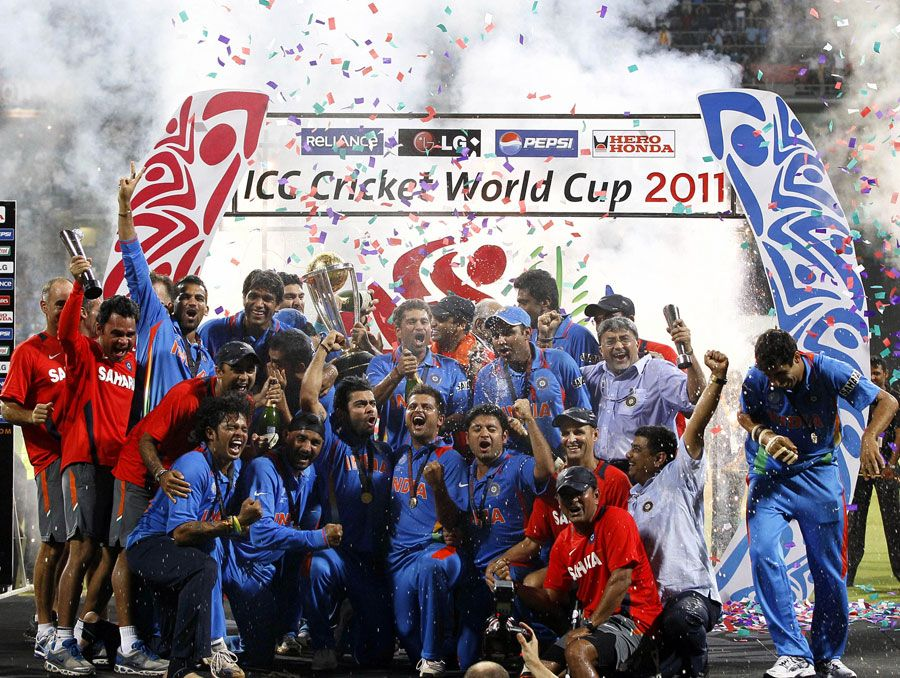 india world cup winning moments