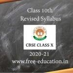 Class Syllabus for 2020-21