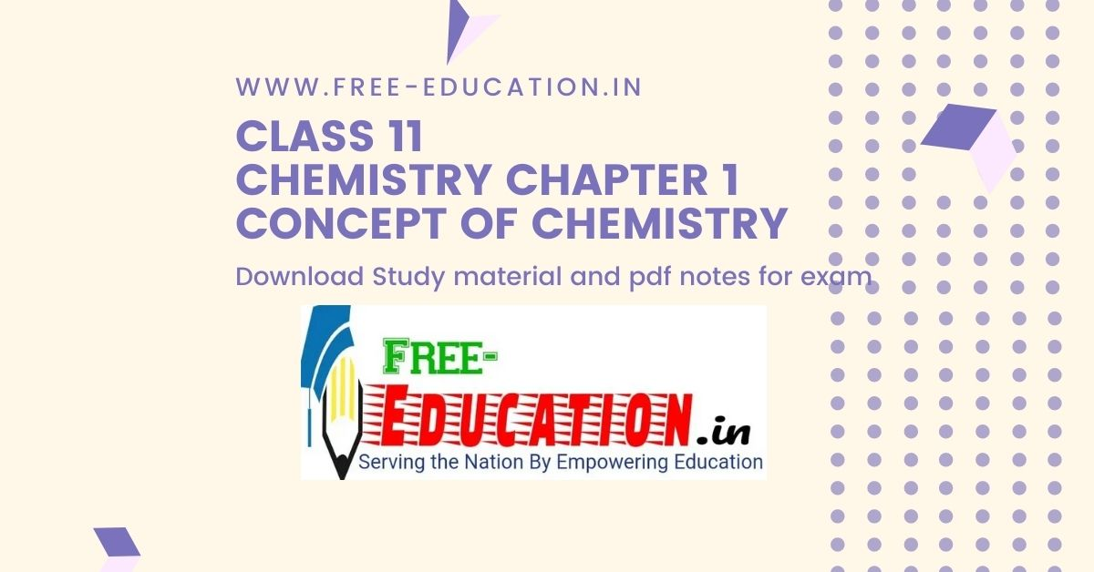 Concept of Chemistry