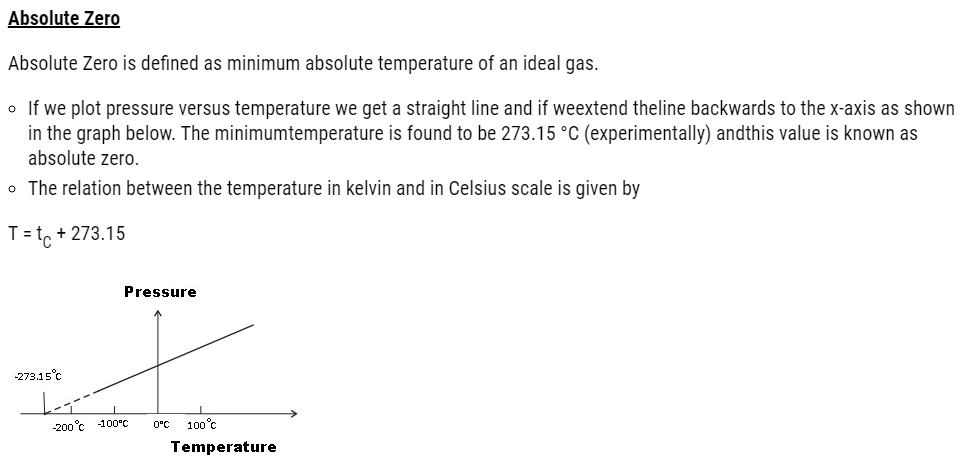 Thermal Properties of Matter