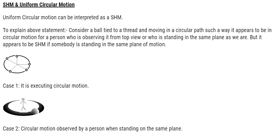 Class 11 Physics Chapter 14 Oscillations Notes and NCERT Solution. www.free-education.in provide study material to excel in exam.