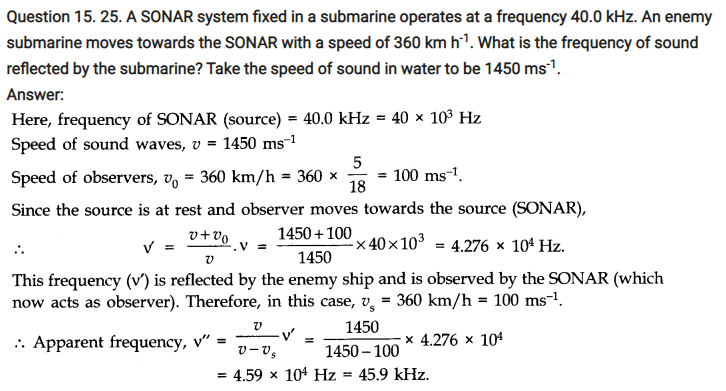 Physics Waves Notes and NCERT Solution of Class 11th.